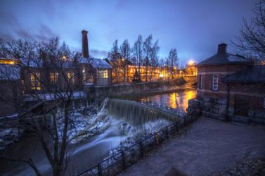 Helsinki old town by FinJambo