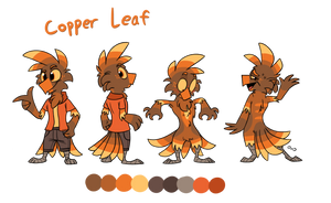 Copper Reference Sheet (Original verson) by PiemationsArt