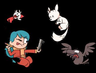 Hilda Drawings! by PiemationsArt