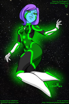 Amalgam Character - Sentinel Aya by StarDragon77