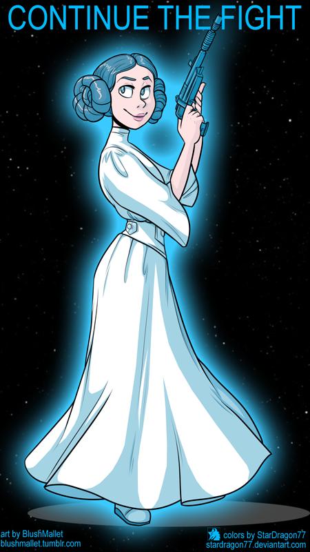 BlushMallet - Princess Leia Tribute by StarDragon77