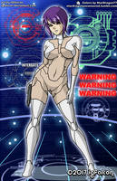 IGFalcon - Motoko Kusanagi Colored Version 2 by StarDragon77