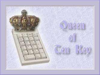 Queen of Ten Key by HelenaZF