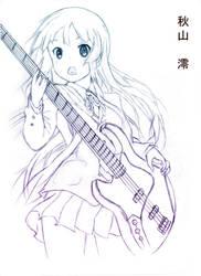 Mio Akiyama by Taka-Katsura