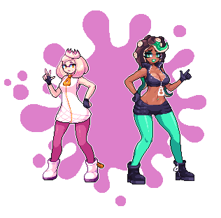 Marina and Pearl by Noscium