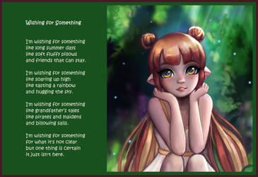 Wishing For Something by C1nderellaMan