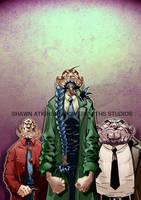 Trio of wizards by ShawnAtkinson