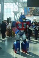 NYCC 2014 - Angry Optimus? by ShawnAtkinson