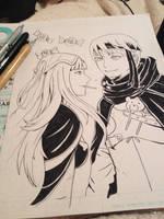 Gaius/Tharja  by darlingGrim