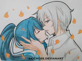 FanArt - Spiritpact_Yo Keika and Tanmoku Ki by Saicross