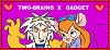 Two-Brains X Gadget Stamp by BlossomBright
