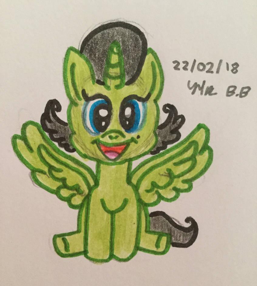 Alicorn Junior by BlossomBright