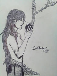 Inktober2018 Poisonous by Porkerfer