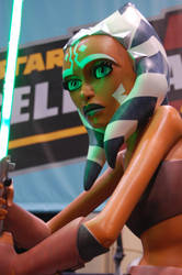 Ahsoka Tano Life Sized Statue by JohnnyCorduroy