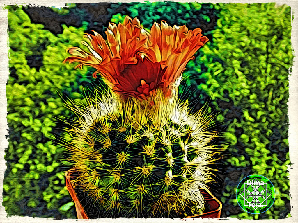 Green Earth aka Nota Cactus ! :) by UAkimov09