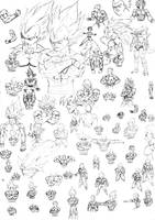 Sketch dbz 03 by DBZwarrior
