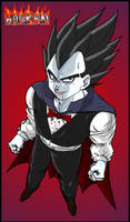 Halloween Vegeta by DBZwarrior