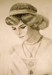 Romanov portrait by Ivory-Fox