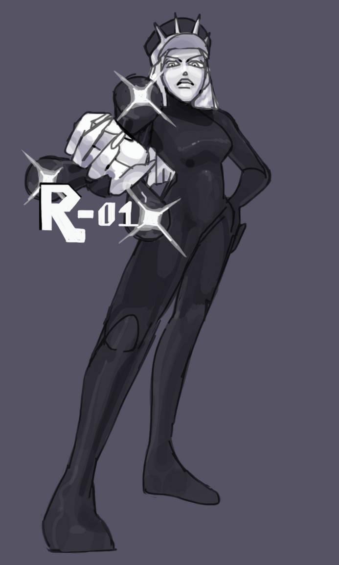 R-01, General Of The Black Valkyries by kalklicht