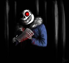 Horrortale Sans by Menekah