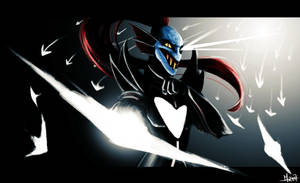 Undyne The Undying by Menekah