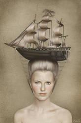 Anna's portrait by AandG