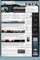 OPTERIA V3 collabo website by jN89