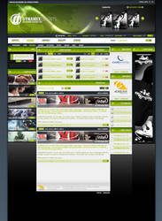 Dynamix eSports Screendesign by jN89