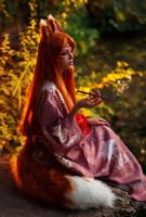 Kitsune (Japanese Mythology) by Faid-Eyren