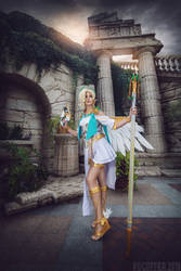Winged Victory Mercy Overwatch by Faid-Eyren