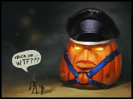 Pumpkin Overlord by bopchara