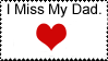 I miss my dad stamp. by WtfJkLol