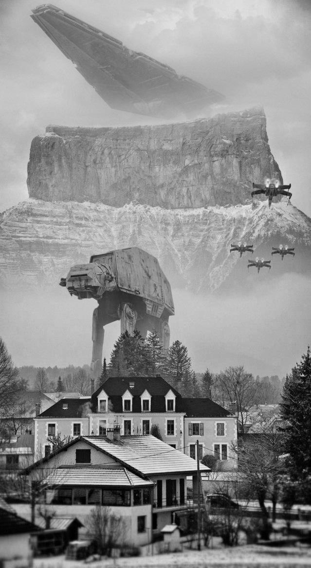 Mont Aiguille - Star Wars by devil-pl