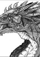 T03- Dragon by AdrianeInnisNeill