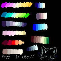 Free To Use Palettes by NumyPome2