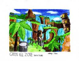 No.1 Green Hill Zone by NextGrandcross