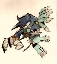 No.36 Sonic the Werehog by NextGrandcross