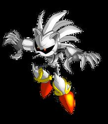 Silver Sonic MK 3 by NextGrandcross