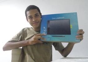 I Bought a Wacom Pen Tablet!!! by joaoppereiraus
