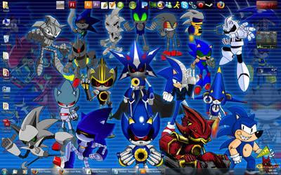 Collab Desktop Wallpaper by TheWax