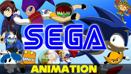 Sega Generations Animation by TheWax