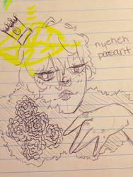 yoyoyo this is like a drawing of a drawing so yeah by SenpaiMeSenpai