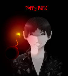 Perry Park Kill Me Heal Me FANART Black n White by Miss-Kimi-Kimi-Chan