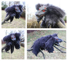 Hellhound doll by DArtJunkie
