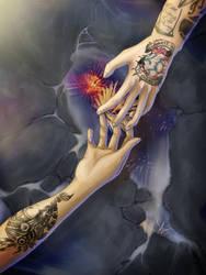 .:Hands:. by queen-of-rainbows