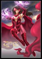Scarlet Witch by earache-J
