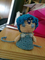 Princess Mercury amigurumi by kikasbombshell