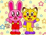 Bunny Kirby and Lisadots123 by BunnyKirbyDoo