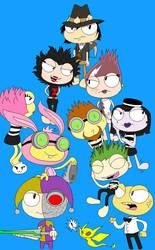 Poptropica: villains by MasterPinpey