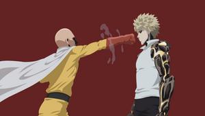 Saitama and Genos | One Punch Man by UzumakiAsh